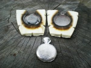 cuttlebone casting jewellery