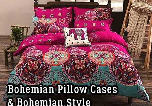 DIY Hippie Room Décor – Bohemian Pillow Cases & Bohemian Style Hippie Comforter Sets