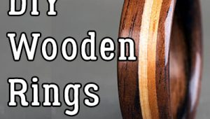 DIY Wooden Rings