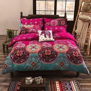 bohemian style comforter sets