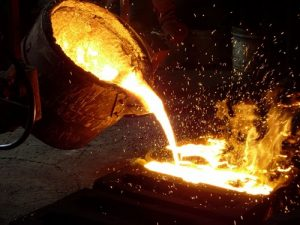 casting metal at home