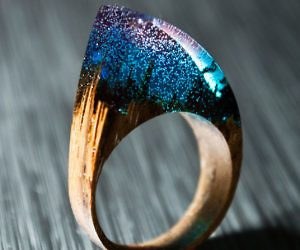 diy wood ring