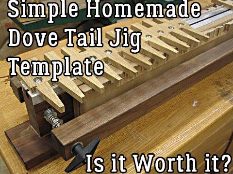 homemade dove tail jig