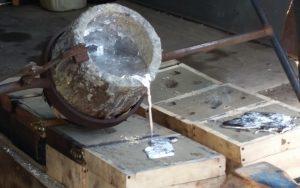 melting aluminum at home
