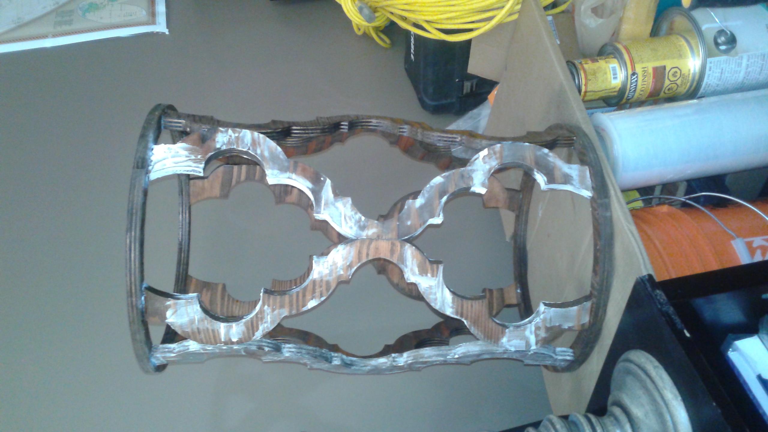 rustic chandelier light